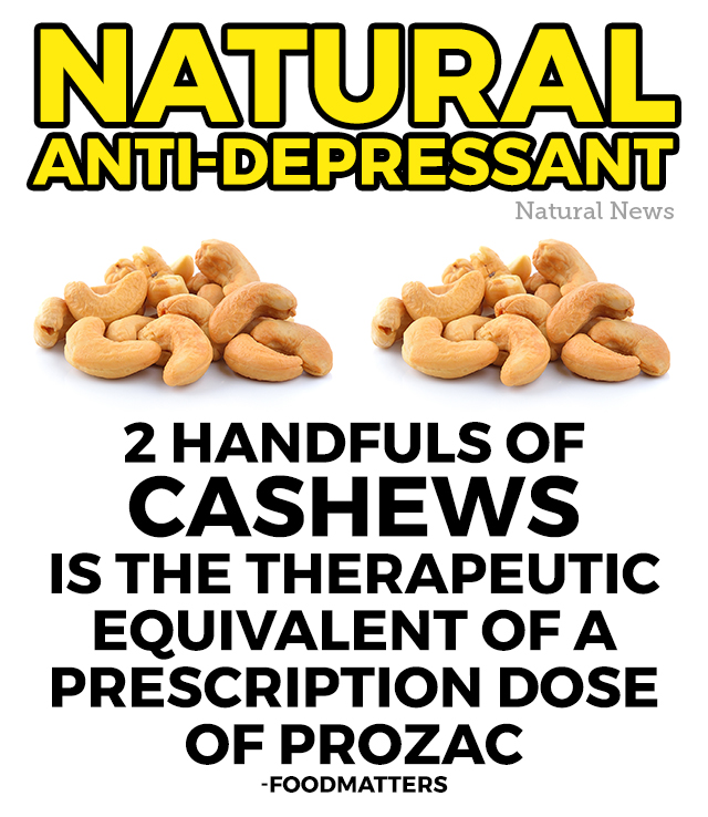 2 Handfuls Of Cashews Is The Therapeutic Equivalent