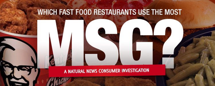 Fast Foods That Have Msg