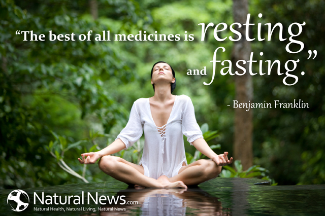 The best of all medicines is resting and fasting