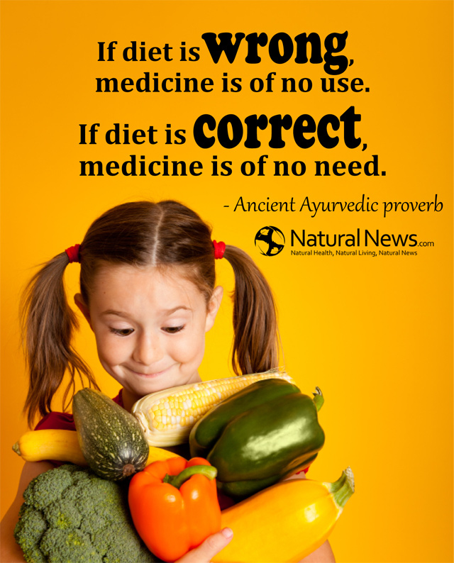 If diet is wrong, medicine is of no use...