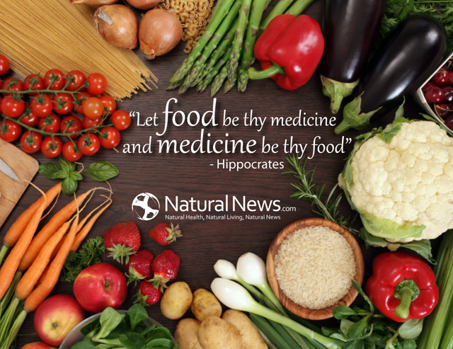 Let food be thy medicine...