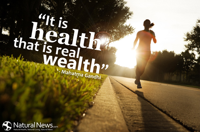It is health that is the real wealth