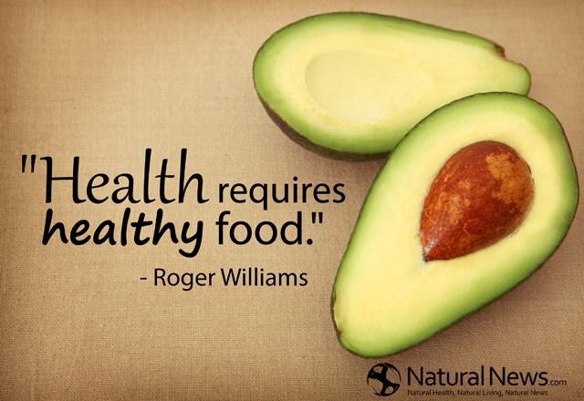 Health requires healthy food  NaturalNews.com