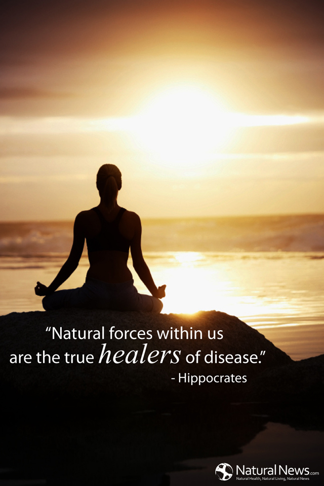 Natural forces within us are the true healers of disease