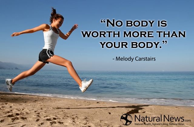 No body is worth more than your body