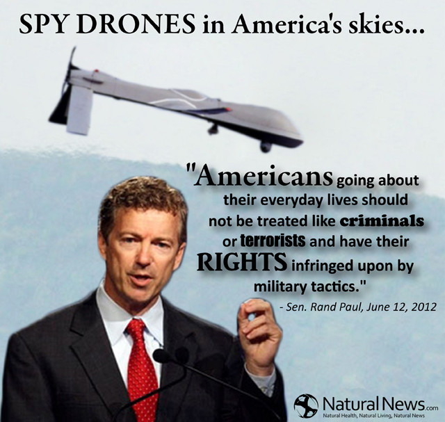 Spy Drones In America's Skies...