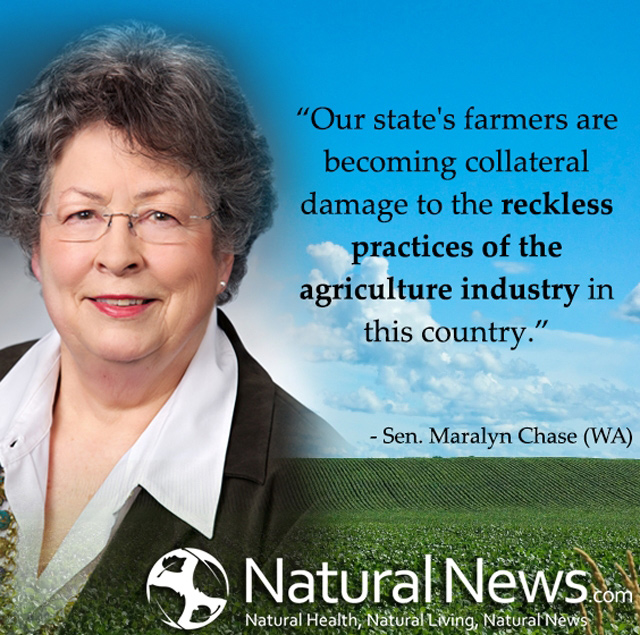 Our state's farmers are becoming collateral damage...