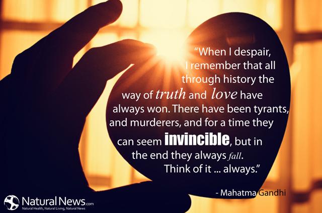 When I Despair Gandhi Quotes