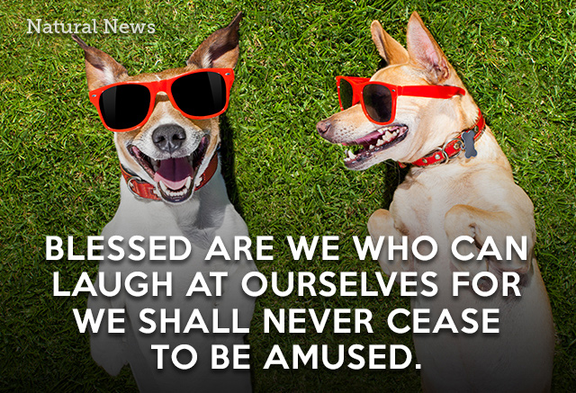 Blessed are we who can...