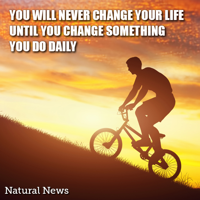 You will never change your life until...