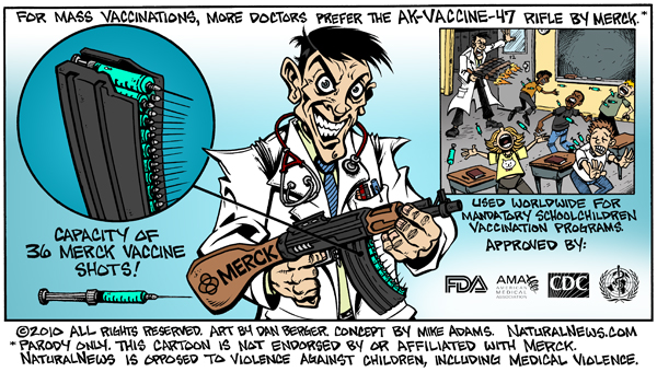 More doctors prefer the AK-Vaccine-47 rifle by Merck