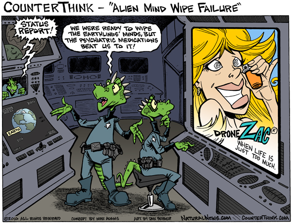 Alien mind wipe failure