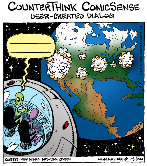 ComicSense: UFOs and the Destruction of Earth