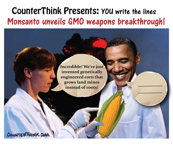 Monsanto Unveils GMO Weapons Breakthrough