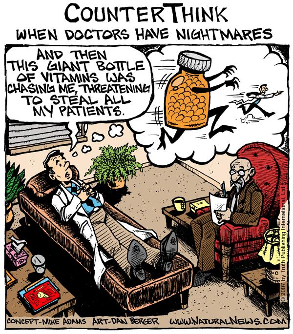 When doctors have nightmares
