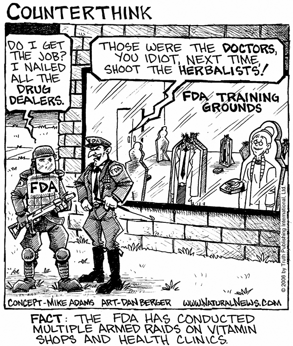 Training for FDA raids