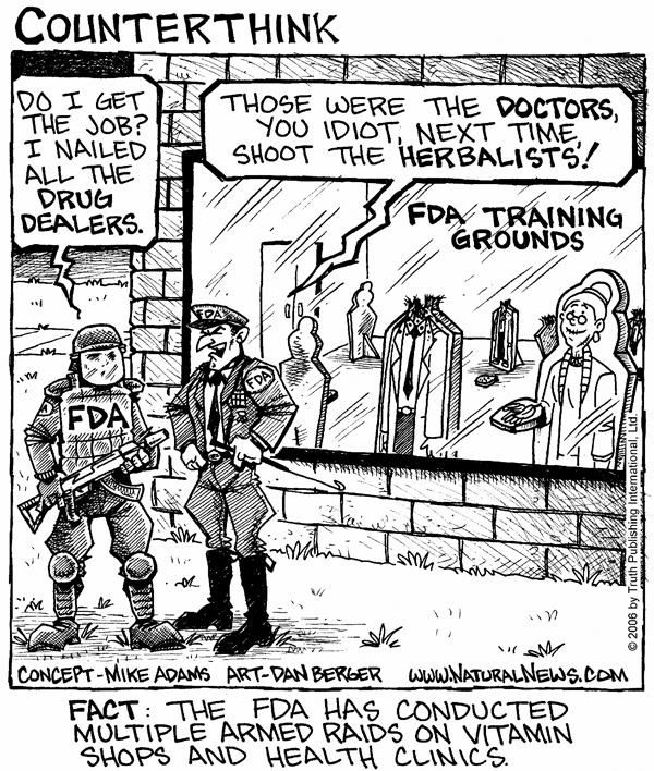 Training for FDA raids