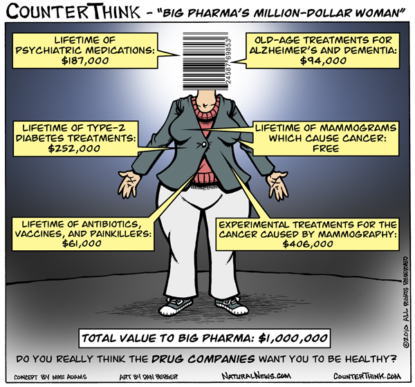 Big Pharma's Million-Dollar Woman
