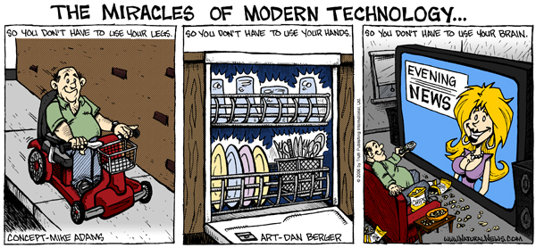 Miracles of Modern Technology