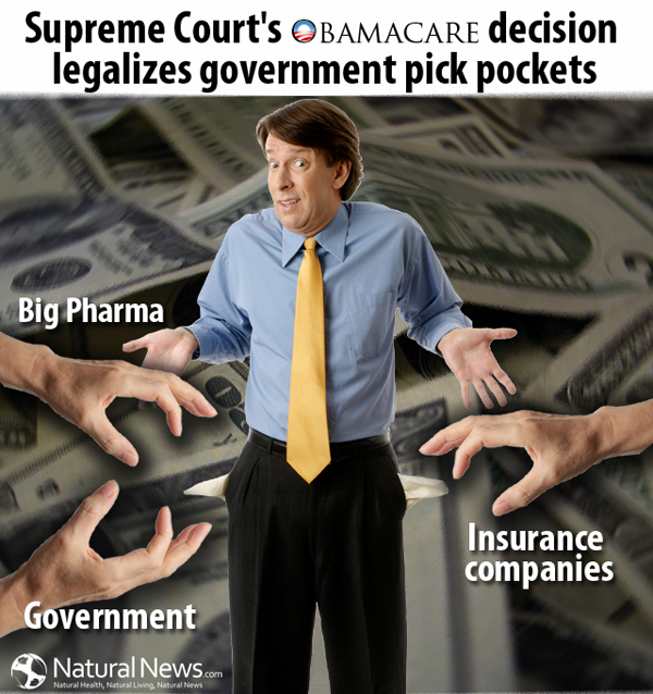 Government Pick Pockets