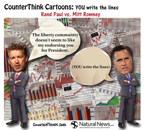 Rand Paul vs. Mitt Romney
