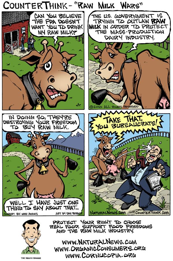 The war on raw milk