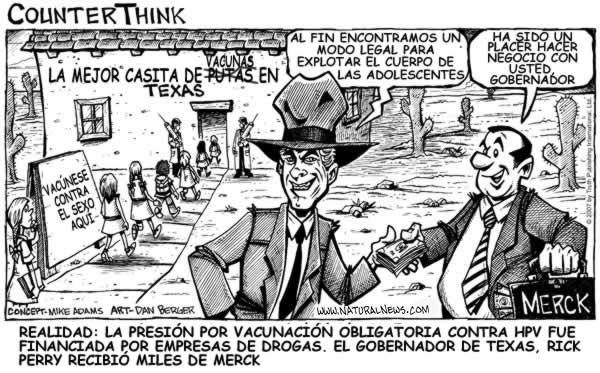La tiranía texana con la vacuna contra el HPV