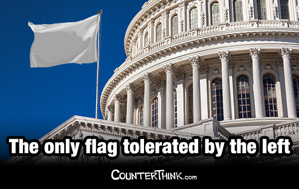 The Only Flag Tolerated by the Left