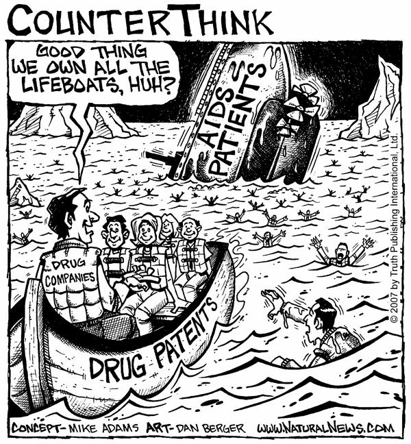 Big Pharma vs. AIDS patients