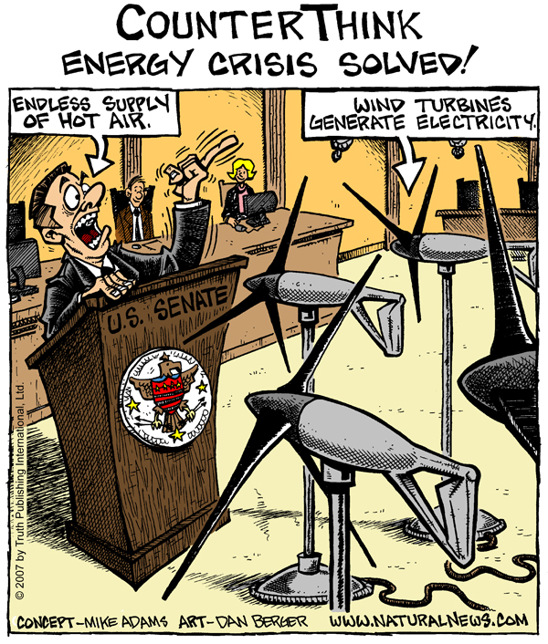 Energy Crisis Solved by U.S. Senate