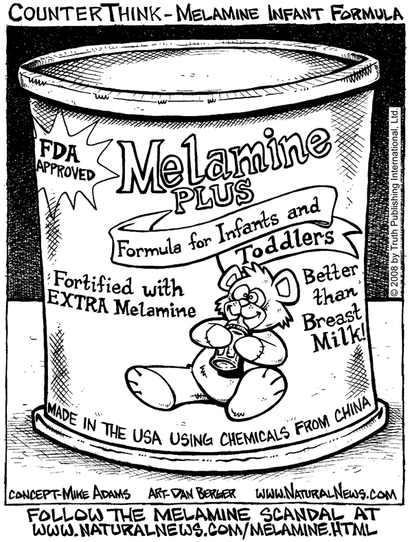 Melamine Infant Formula