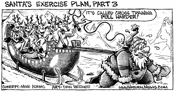 Santa's Exercise Plan - Part 3