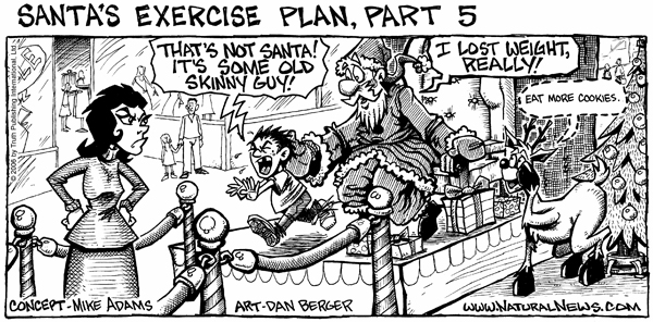 Santa's Exercise Plan - Part 5