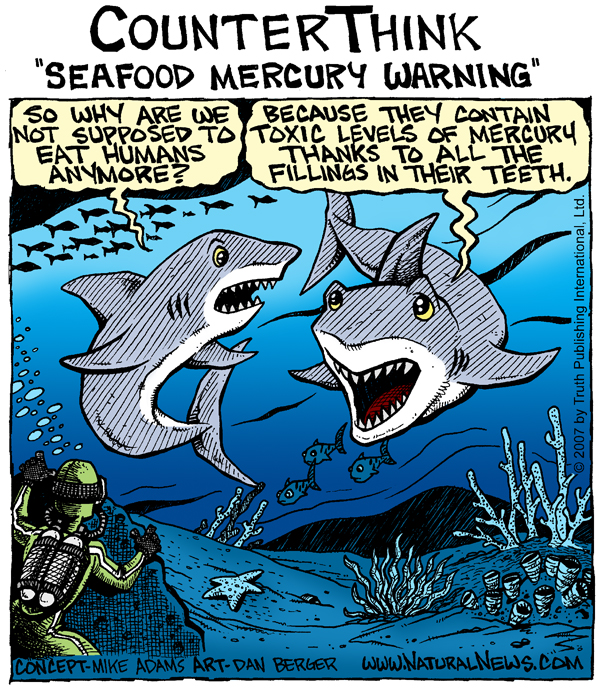 Seafood Mercury Warning