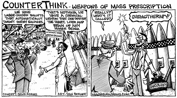 Pharmaceuticals are Weapons of Mass Prescription
