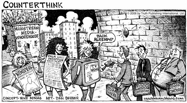 The Mainstream Media Whorehouse