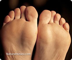 Feet fungi