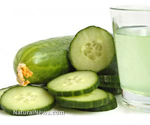 Bottled green juice