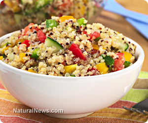 Quinoa Salad 7 Great Food Substitutions for Common Food Allergens