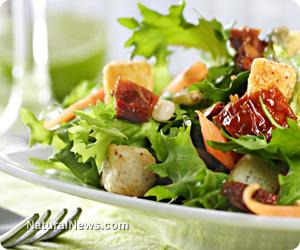 Pre-bagged salads