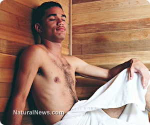 Sauna bathing