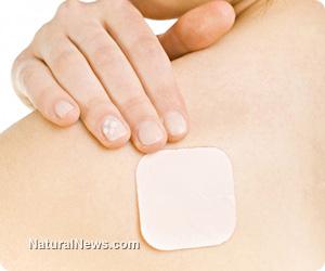 Prescription pain patches