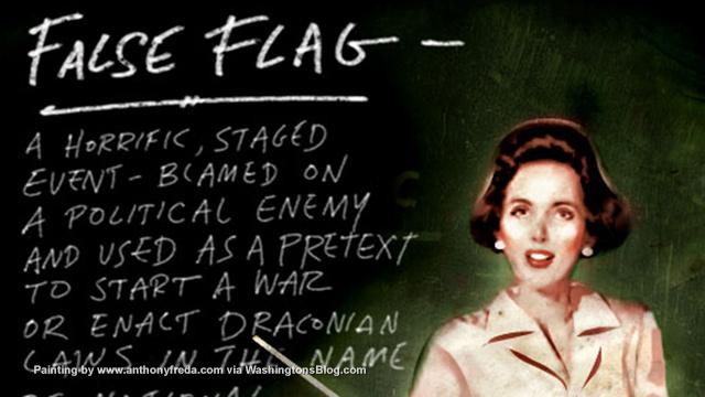 False flag attacks