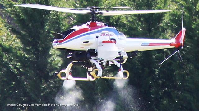 Pesticide drones