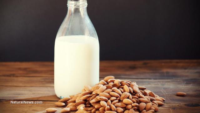 how to drink almond milk