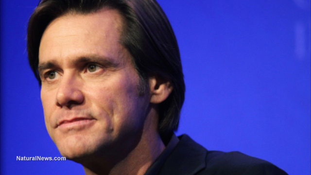Jim Carrey blasts Jerry Brown as a 'corporate fascist' for signing mandatory vaccination law