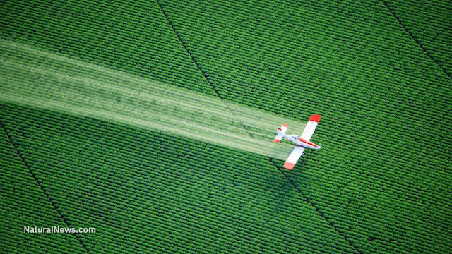 Pesticide drift