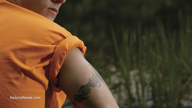 Fake tattoos