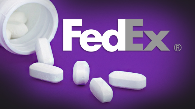DEA protects Pharma racket by charging FedEx with felony crimes for delivering prescription drug packages