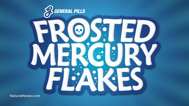 Frosted Mercury Flakes